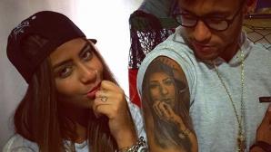 Неймар си татуира лика на сестра си