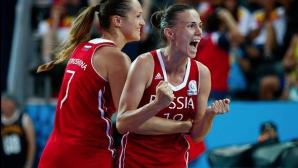 Женският национален отбор на Русия по баскетбол ще пропусне Рио 2016
