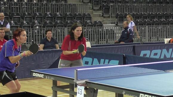 Спортен клуб  за хора с увреждания НИКЕЯ с трима представители на турнира по тенис на маса в Клуж