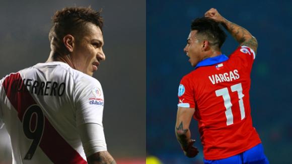 Варгас и Гереро си поделиха голмайсторския приз