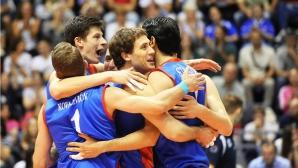 Силен Атанасийевич с 32 точки, Сърбия с драматично 3:2 над Италия (ВИДЕО)