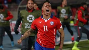 Чили е на финал! Десет перуанци не издържаха срещу домакина на Копа Америка (Видео)