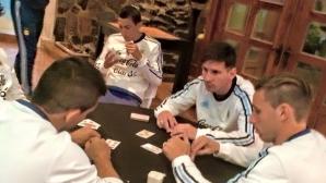 "Меси ""цъка"" карти преди полуфинала"