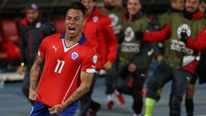 Новата звезда на Чили пред трансфер в Арсенал