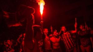 УЕФА може да накаже Барселона заради сепаратистки флагове и скандирания