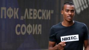 Де Ноойер започва тренировки с Левски