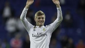 Кроос: Идването в Реал бе най-доброто ми решение