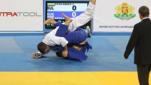Иван Стефанов ще играе за бронзов медал на европейското по джудо