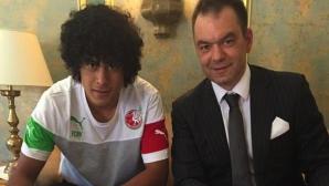 Още един уругваец в отбора на Благо Георгиев