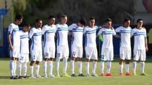 Левски представя отбора срещу Локо (Пловдив)
