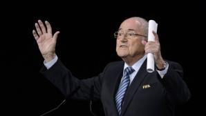 Блатер: Президентите на Франция и Германия оказаха политически натиск преди избора на домакините на Мондиал 2018 и 2022