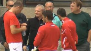 Гриша Ганчев посети ЦСКА в Тетевен, привика треньорите