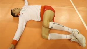 Кошмарите с контузените волейболисти продължават
