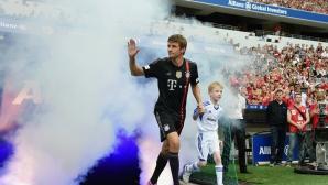 Лудостта продължава - 82 млн. евро за Мюлер от Юнайтед?
