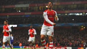 Капитанът на Арсенал преподписа за още една година