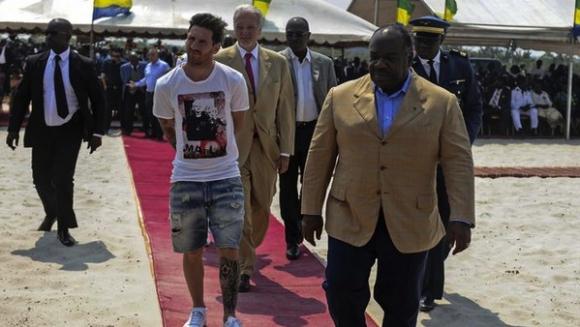 Меси получил 3,5 млн. за визитата си в Габон