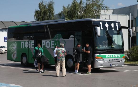 Берое замина за Дания с група от 20 футболисти