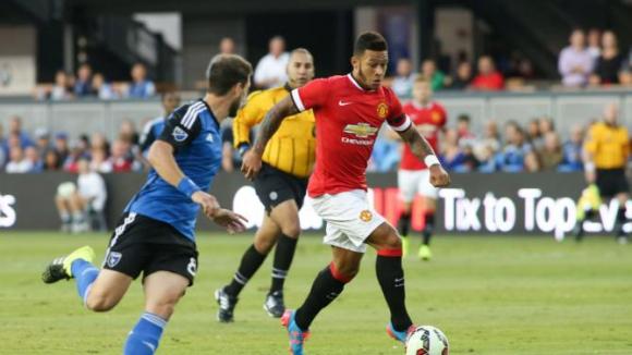Юнайтед с втора победа в САЩ, Депай откри головата си сметка (видео)