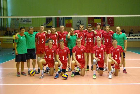Най-младите национали на България започнаха с успех на Балканиадата