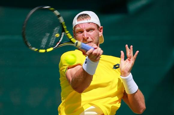 Номер 6 в схемата Сам Грот отпадна от турнира в Богота