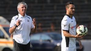 Венци предупреди футболистите си преди гостуването в Благоевград