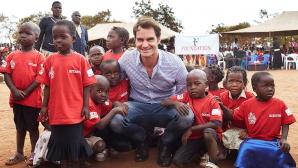 Федерер е дарил 13,5 млн. долара за децата на Малави