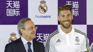 Разбраха се: Серхио Рамос остава в Реал до 2020 година