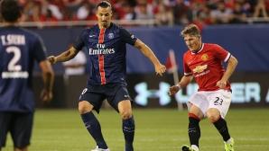 ПСЖ срази Манчестър Юнайтед и спечели International Champions Cup (видео)