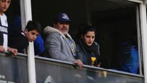 Марадона ще праща майката на дъщерите си в затвора