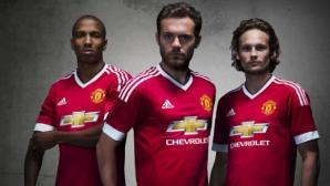 Чакането свърши: Манчестър Юнайтед представи историческия нов екип (галерия и видео)