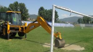 Продължава изграждането на спортния комплекс в Симитли
