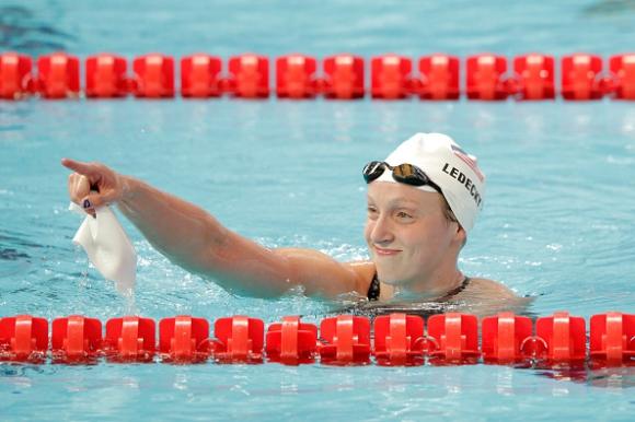 Кейти Ледецки счупи световния рекорд на 1500 метра свободен стил