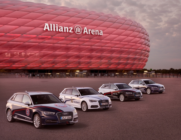 Време е за Audi Cup 2015
