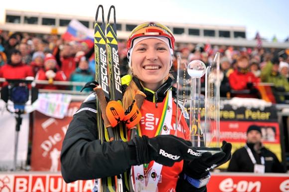 Трикратната олимпийска шампионка Даря Домрачова пропуска сезона в биатлона