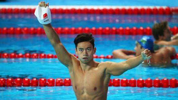 Китаец спечели кралските 100 м свободен стил