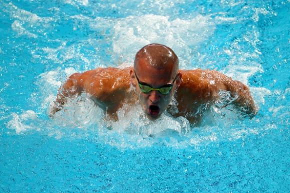 Ласло Чех с най-добър резултат за годината на 100 метра бътерфлай