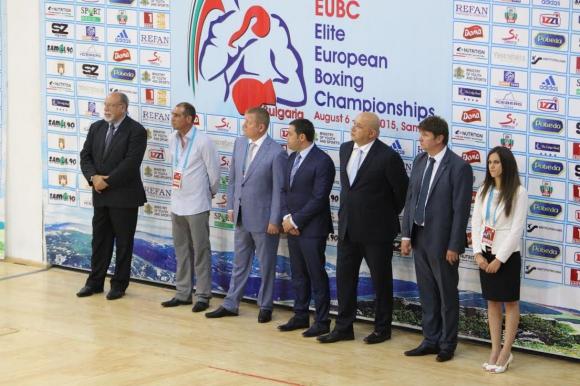 Европейското първенство по бокс в Самоков бе открито