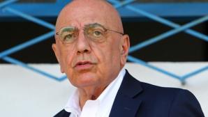 Галиани отписа възможността Ибра да се върне в Милан