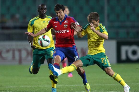 ЦСКА (Москва) продължава без грешка след труден успех в Краснодар