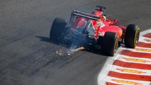 """Ферари няма да са готови със """"супер двигателя"""" за """"Монца"""""""