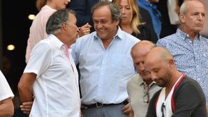 Платини представя програмата си като кандидат-президент на ФИФА в следващите два месеца