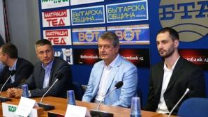 Радо Стойчев и Матей Казийски стартират волейболната си школа след месец (ВИДЕО + ГАЛЕРИЯ)