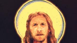 Изобразиха Йоканович като Исус