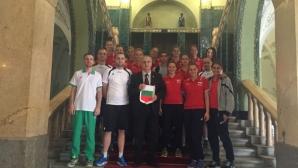 Българският национален тим по волейбол посети кметството в Суботица