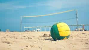 Колев и Христов постигнаха първа победа на европейското по плажен волейбол