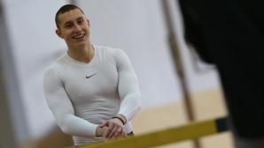 Наградиха Петър Пеев за най-добър млад спортист на юли