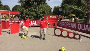 Стартира футболният атракцион за малки и големи, посветен на мача България - Норвегия
