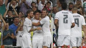 """Реал Мадрид се вихри на """"Бернабеу"""", писа """"5"""" на Бетис (видео + галерия)"""
