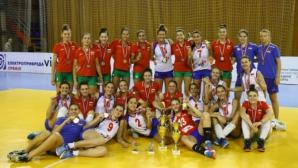 България спечели сребро и две индивидуални награди на Балканиадата