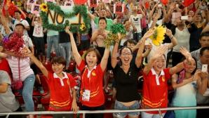 По 77 000 ежедневно са наблюдавали СП в Пекин